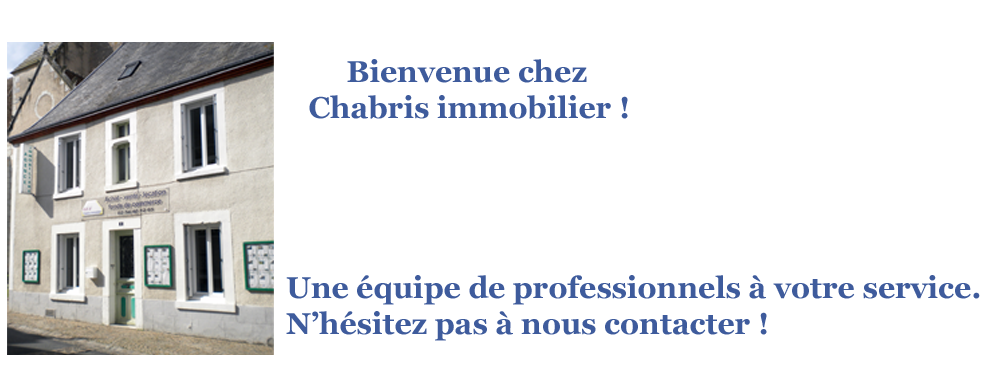 Agence immobilier Chabris immobilier